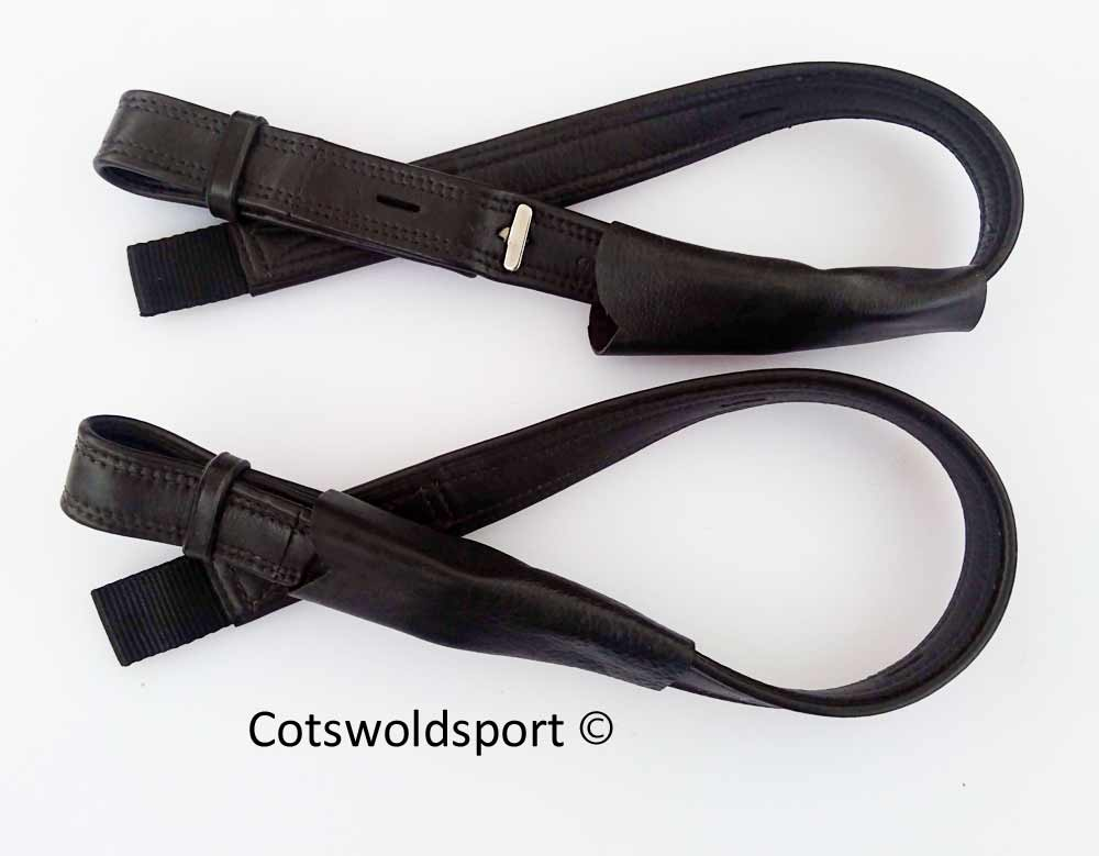 Webbers Stirrup Leathers T Bar Dressage Close Contact 3200
